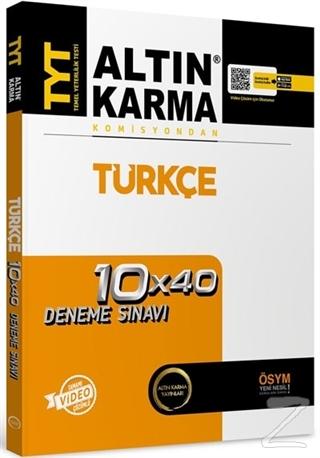 TYT Türkçe Tamamı Çözümlü 10x40 Deneme Sınavı