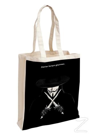 V For Vendetta - Aforizma Bez Çanta