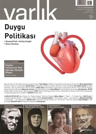 Varlık Edebiyat ve Kültür Dergisi Sayı: 1347 Aralık 2019