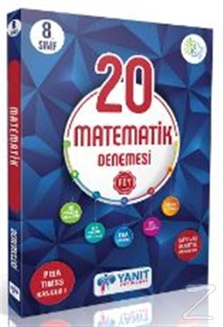 Yanıt 8. Sınıf Çözümlü 20 Matematik Branş Denemesi