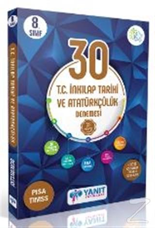 Yanıt 8. Sınıf Çözümlü 30 İnkılap Tarihi Branş Deneme
