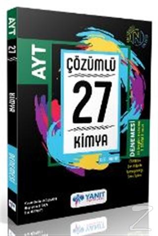 Yanıt AYT Çözümlü 27 Kimya Branş Denemesi