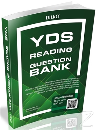 YDS Reading Question Bank (Video Çözümlü)