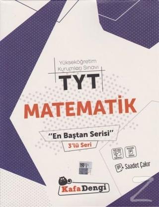 YKS TYT Matematik En Baştan Serisi 3'lü Seri Saadet Çakır