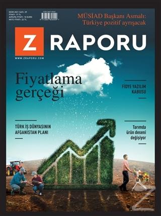 Z Raporu Dergisi Sayı: 29 Ekim 2021 Kolektif