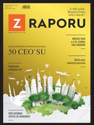 Z Raporu Dergisi Sayı: 3 Ağustos 2019