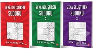 Zeka Geliştiren Sudoku Seti (3 Kitap Takım)