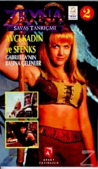 Zeyna Savaş Tanrıçası 2 Gabriella'nın Başına Gelenler Avcı Kadın ve Sfenks