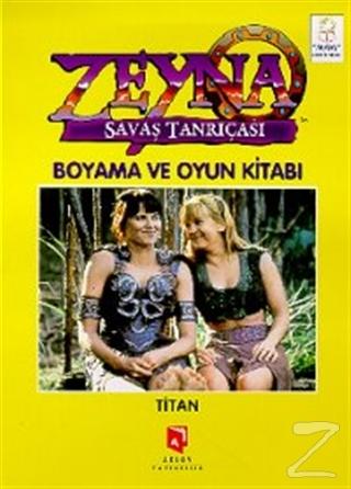 Zeyna Savaş Tanrıçası Boyama ve Oyun Kitabı : Titan