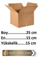 Mukavva Karton Kutu 25x15x15 cm