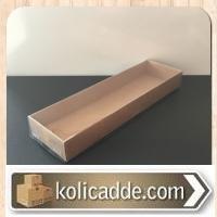 Asetat Kraft Kutu 6,5x20,5x2,5 cm