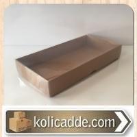Asetat Kapaklı Karton Kutu 20x10x3 cm