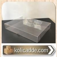 Şeffaf Asetat Kutu 15x20x3 cm