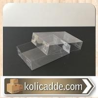 Şeffaf Asetat Kutu 6x9x2 cm.