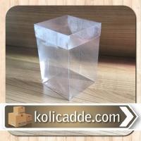 Asetat Kutu 6x6x10 cm.