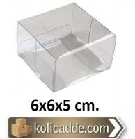 Komple Asetat Kutu 6x6x5 cm.