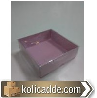 Asetat Sabun Kutusu 8x8x3 cm