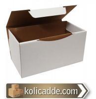 Beyaz Karton Kutu 15,5x11x7,5 cm.