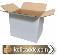 Büyük Beyaz Karton Koli 40x30x35 cm