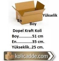 Dopel Kraft Koli 51x35x25 cm.