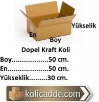Dopel Kraft Koli 50x50x30 cm.