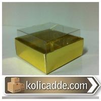 Gold Asetat Kutu 5x5x3 cm.