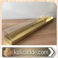 Gül Kutusu Altı Altın Renk Karton