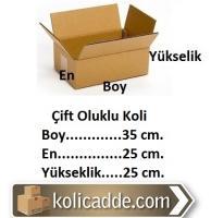 Boş Koli 35x25x25 cm.