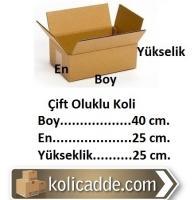Hazır Boş Koli 40x25x25 cm.