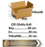 Karton Koli Ambalaj 40x30x35 cm.