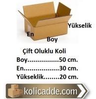 Karton Koli 50x30x20 cm.