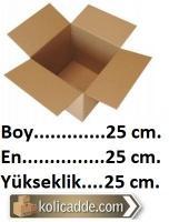 Karton Kutu 25x25x25 cm.