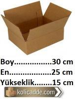 Karton Kutu 30x25x15 cm.