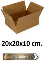100 Adet 20x20x10 Karton Kutu Tane Fiyatı 0,69 Lira