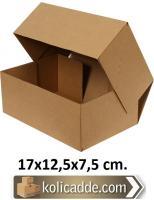 Kilitli Karton Kutu 17x12,5x7,5 cm.
