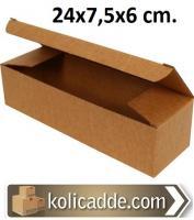Kilitli Karton Kutu 24x7,5x6 cm.