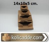 100 Adet Küçük Karton Kutu Tanesi 79 Kuruş