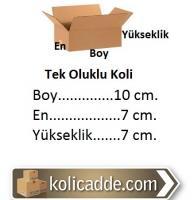 Küçük Karton Kutu 10x7x7 cm.