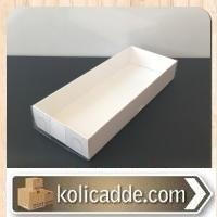 Asetat Tesbih Kutusu 6,5x16x2,5 cm