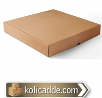 Karton Pizza Kutusu 32x32x5 cm.