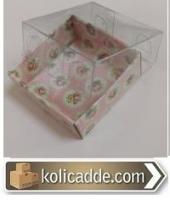 Çiçekli Ufak Kutu 5x5x2,2 cm