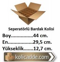 Seperatörlü Su Bardağı Kolisi 44x29,5x12,7 cm.