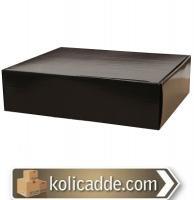 Siyah Kilitli Kutu 29x25x8 cm.