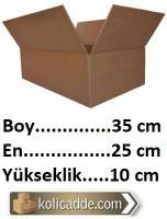 Karton Koli Kutu 35x25x10 cm.