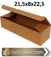 Kilitli Karton Kutu 21,5x8x22,5 cm.
