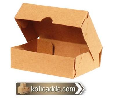 Kilitli Kraft Karton Kutu 45x40x15 cm.-KoliCadde