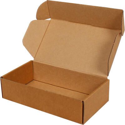 Kilitli Kapak Boş Karton Kutu 15x8x6,5 cm.-KoliCadde