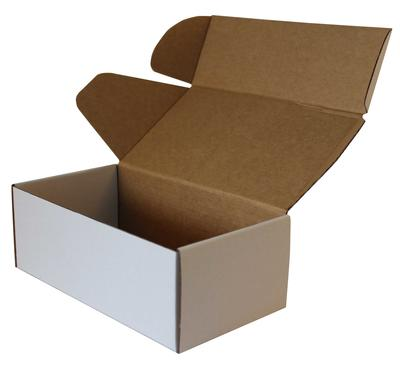 Yeni Beyaz Kutu Koli 22,5x12x8 cm.-KoliCadde