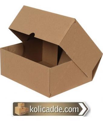 Kilitli Karton Kutu 25x20x10 cm.-KoliCadde