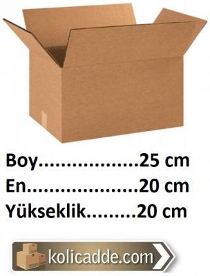 Boş Koli Kutu 25x20x20 cm-KoliCadde
